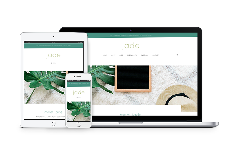 Jade - A WordPress theme to help you grow your business with ease.